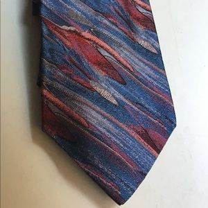 🎨SOLD🎨Missoni Silk Watercolor Print Tie